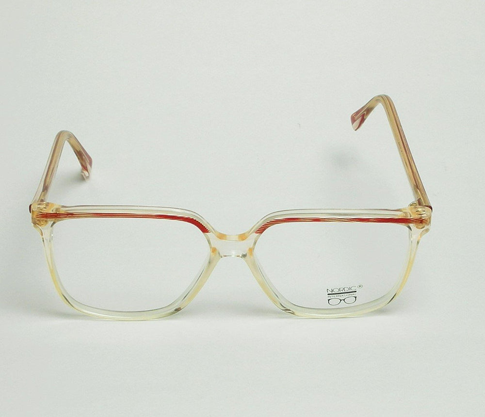 Nordic Eyeglasses Dalia Col. 168 Red 56-14-135 Made in France