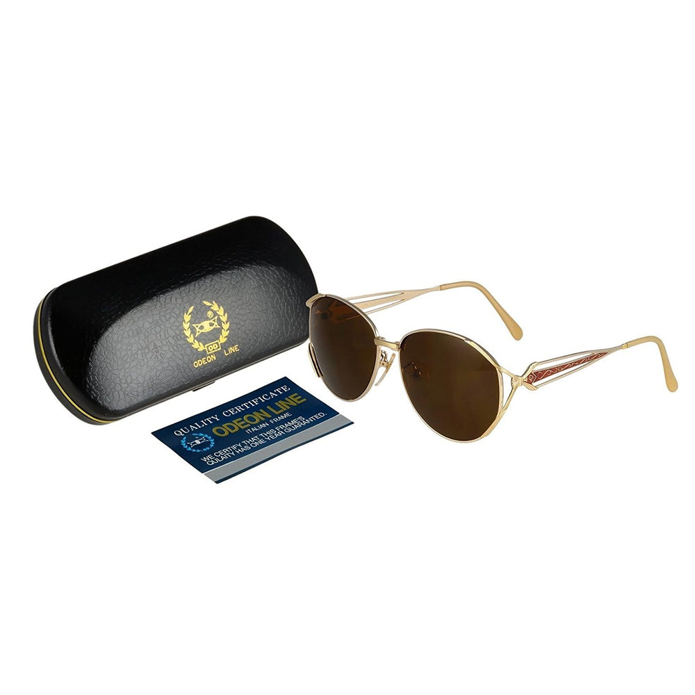 Odeon Line Sunglasses Mod. OL-2011 58-15-135 Made in Italy w/case