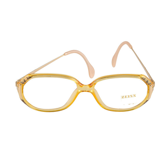 ZEISS Eyeglasses 3243 8100 EF9 Yellow 50-14-130 Made in Germany - Eyeqglass