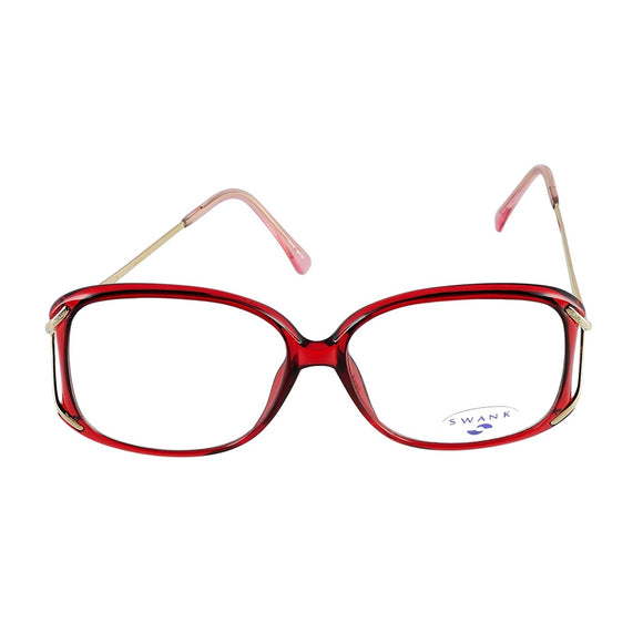 SWANK Eyeglasses Chantilly 903 Burgundy 722 Size 54-14-125 Made in Japan - Eyeqglass