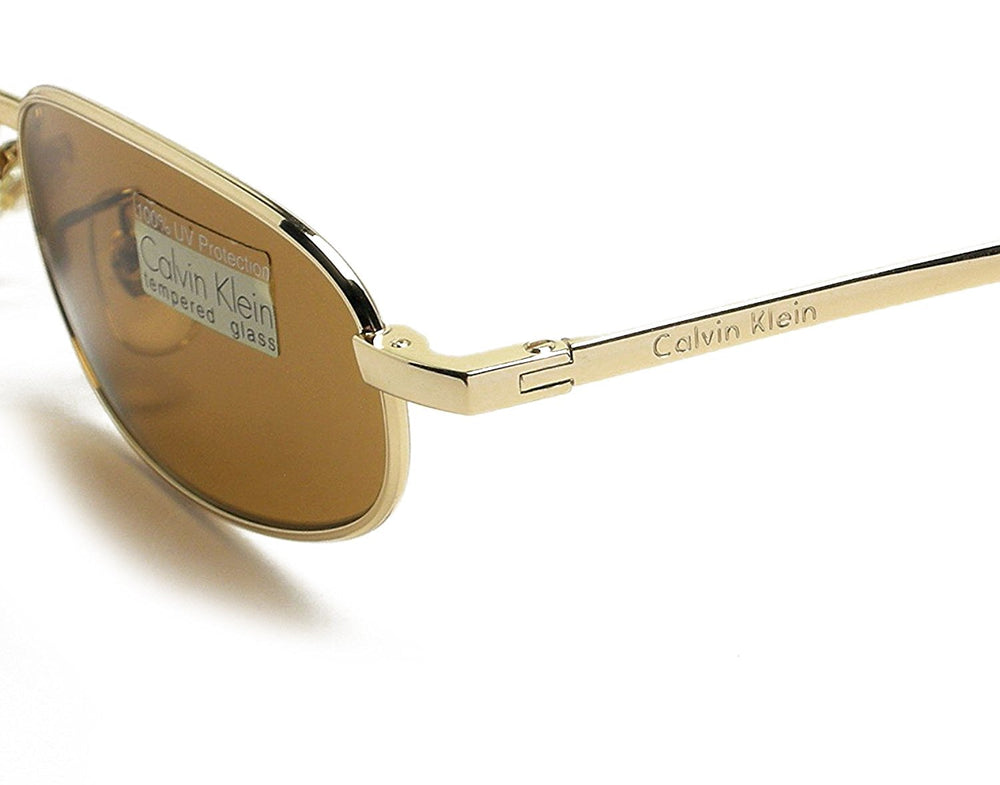 Calvin Klein Sunglasses 157S 510 Tempered Glass 52-19-140 Made in Italy