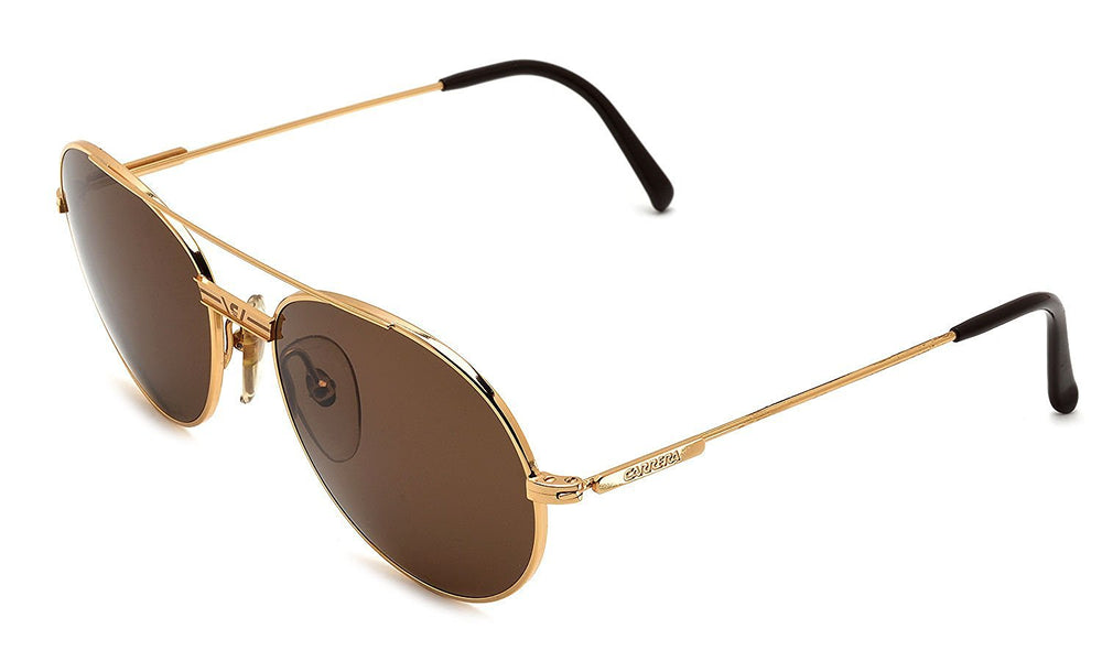 Carrera Sunglasses 5386 40 Gold 55-17-140 Made in Austria