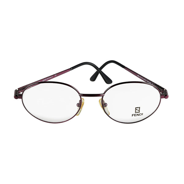 Fendi Eyeglasses VL 7110 Col. Q66 Burgundy 54-19-135 Made in Italy - Eyeqglass