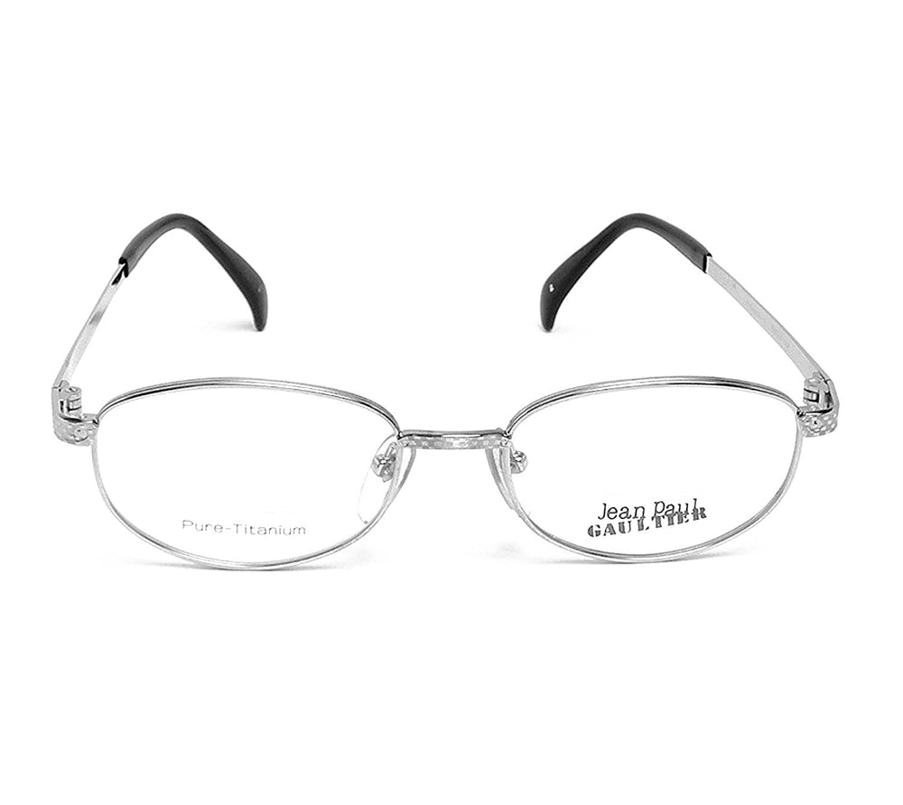 Jean Paul Gaultier Eyeglasses Pure Titanium 55-3184 Col.2 Silver 50-18-140 Made in Japan