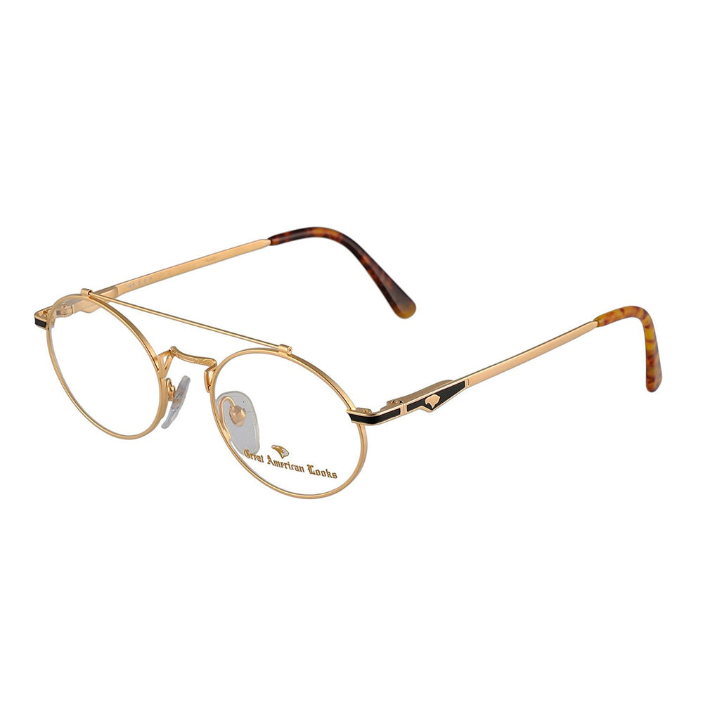 Great American Looks GALO15U Gold Eyeglasses 938 52-20-150