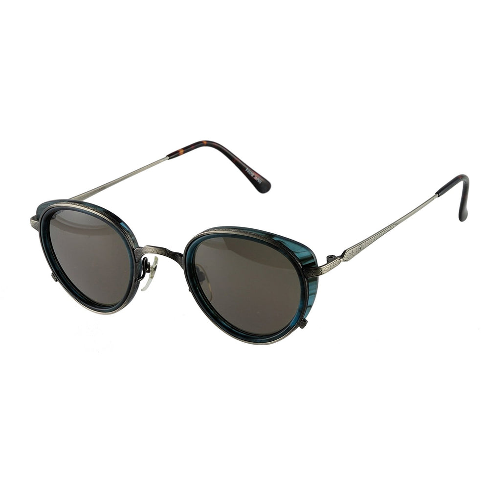 Indian Sunglasses 1915 Blue CB 46-26-145 Made in Japan - Eyeqglass