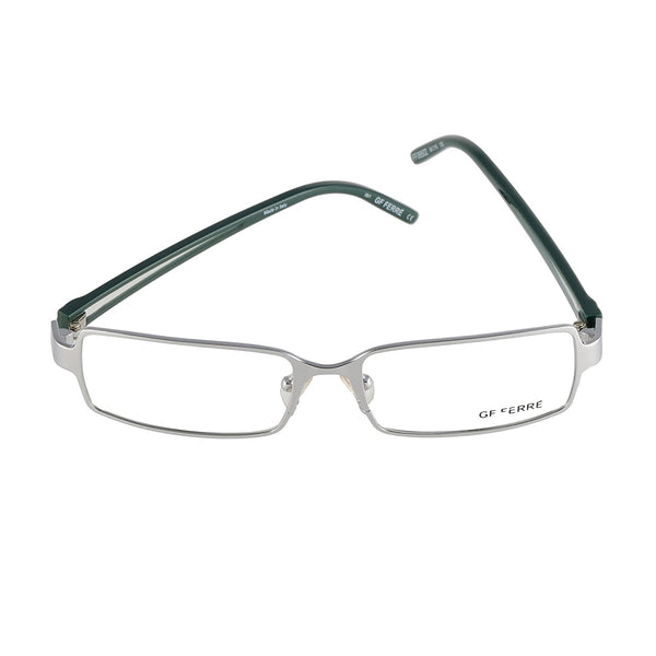 GianFranco Ferre FF 06502 05/1 Silver Dark Green 54-16-135 Made in Italy - Eyeqglass