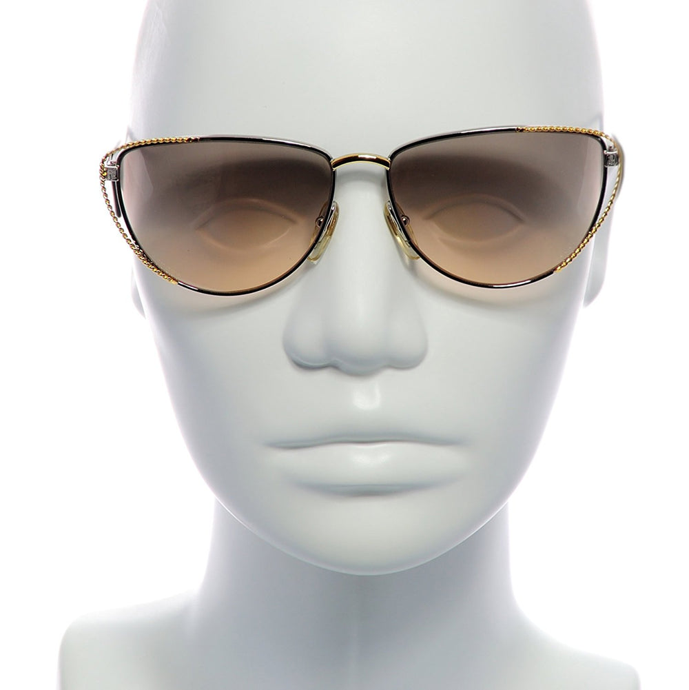 Fendi Sunglasses FV 171 Gold Silver 083 58-14-140 Made in Italy - Eyeqglass