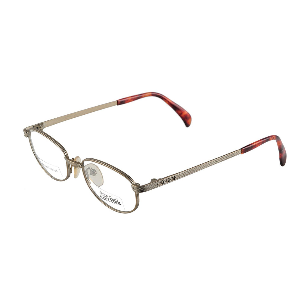 Jean Paul Gaultier Eyeglasses Pure Titanium 55-3184 Col.3 50-18-140 Made in Japan