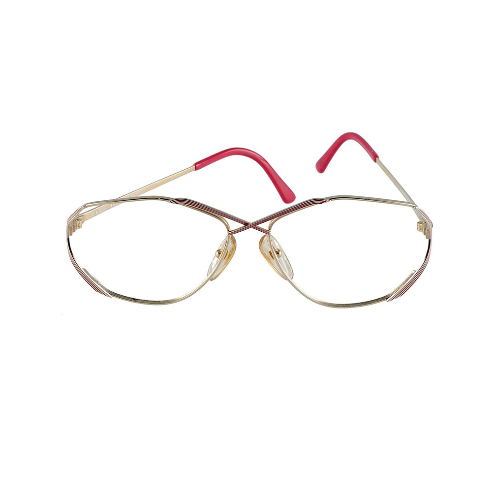 Christian Dior Eyeglasses (no lens) CD 2684 43 Red 55-14-135 Made in Austria - Eyeqglass