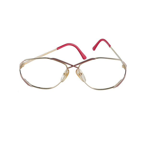 Christian Dior Eyeglasses (no lens) CD 2684 43 Red 55-14-135 Made in Austria