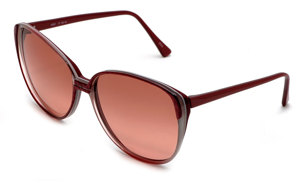 Sir Winston Sunglasses 4280 Burgundy 956 58-16 Made in Italy - Eyeqglass