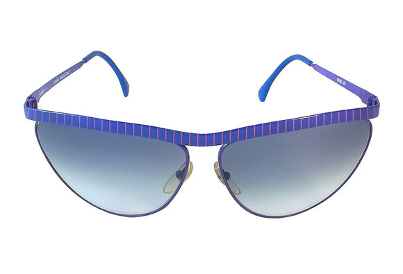Zagato Sunglasses 6100 01 Purple Hand made in Italy - Eyeqglass