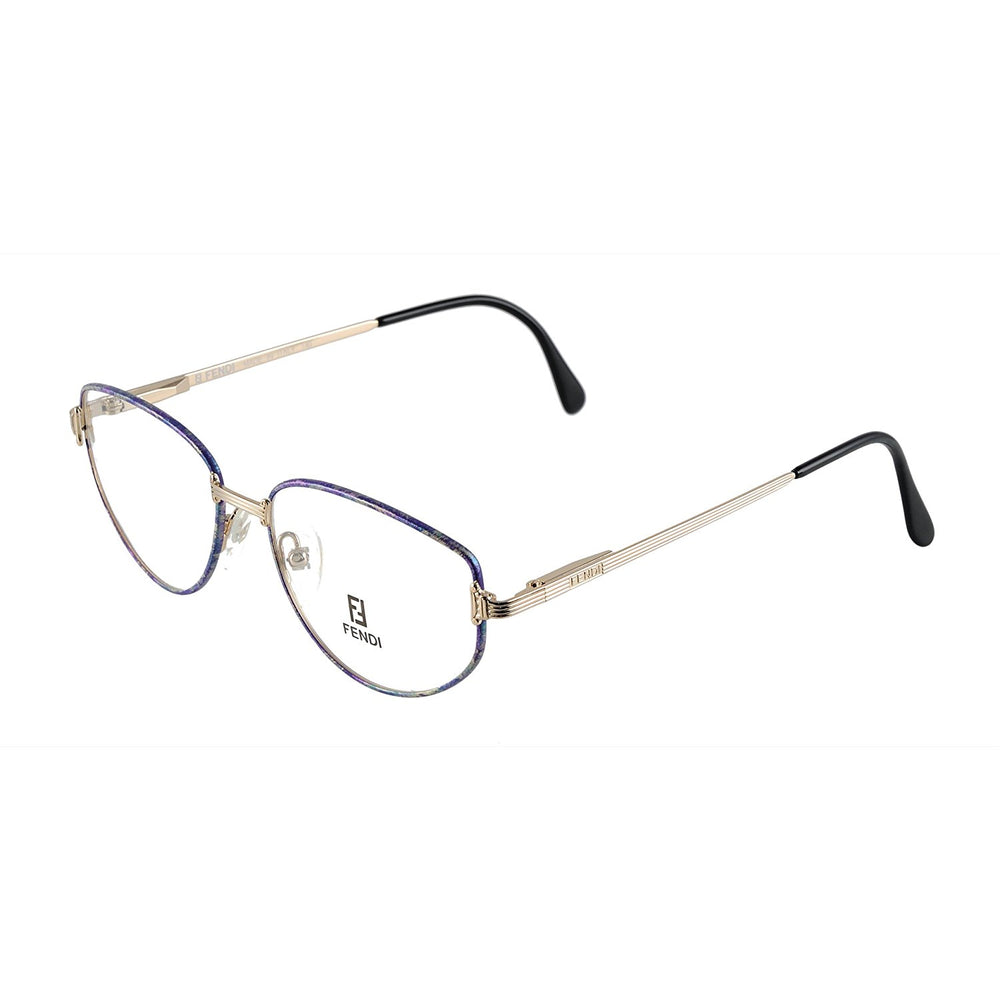 Fendi Eyeglasses F 28 Col. Lilac Luster 54-17-140 Made in Italy
