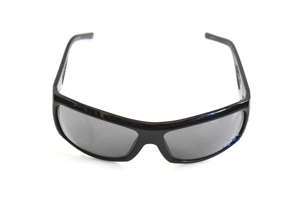 Black Flys Sunglasses SNOW FLY with Blue Rhinestones Black Limited