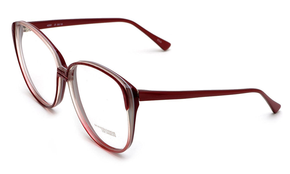 Sir Winston Eyeglasses 4280 Burgundy 956 58-16 Made in Italy