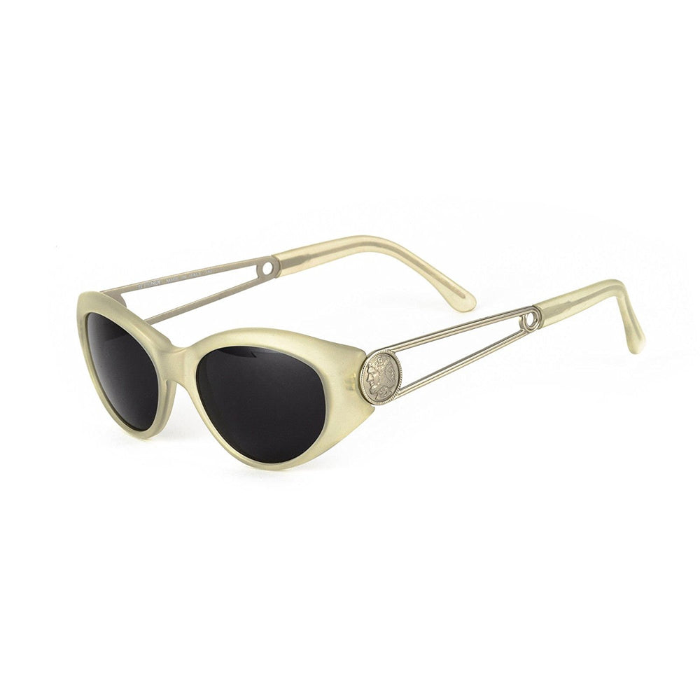 Fendi Sunglasses FS 143 Satin Crystal 52-17-140 Made in Italy - Eyeqglass