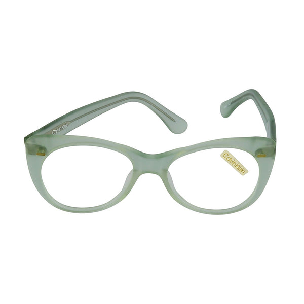 Calvin Klein Eyeglasses CK 1 1918 Transparent Light Green 51-17-145 Made in Italy