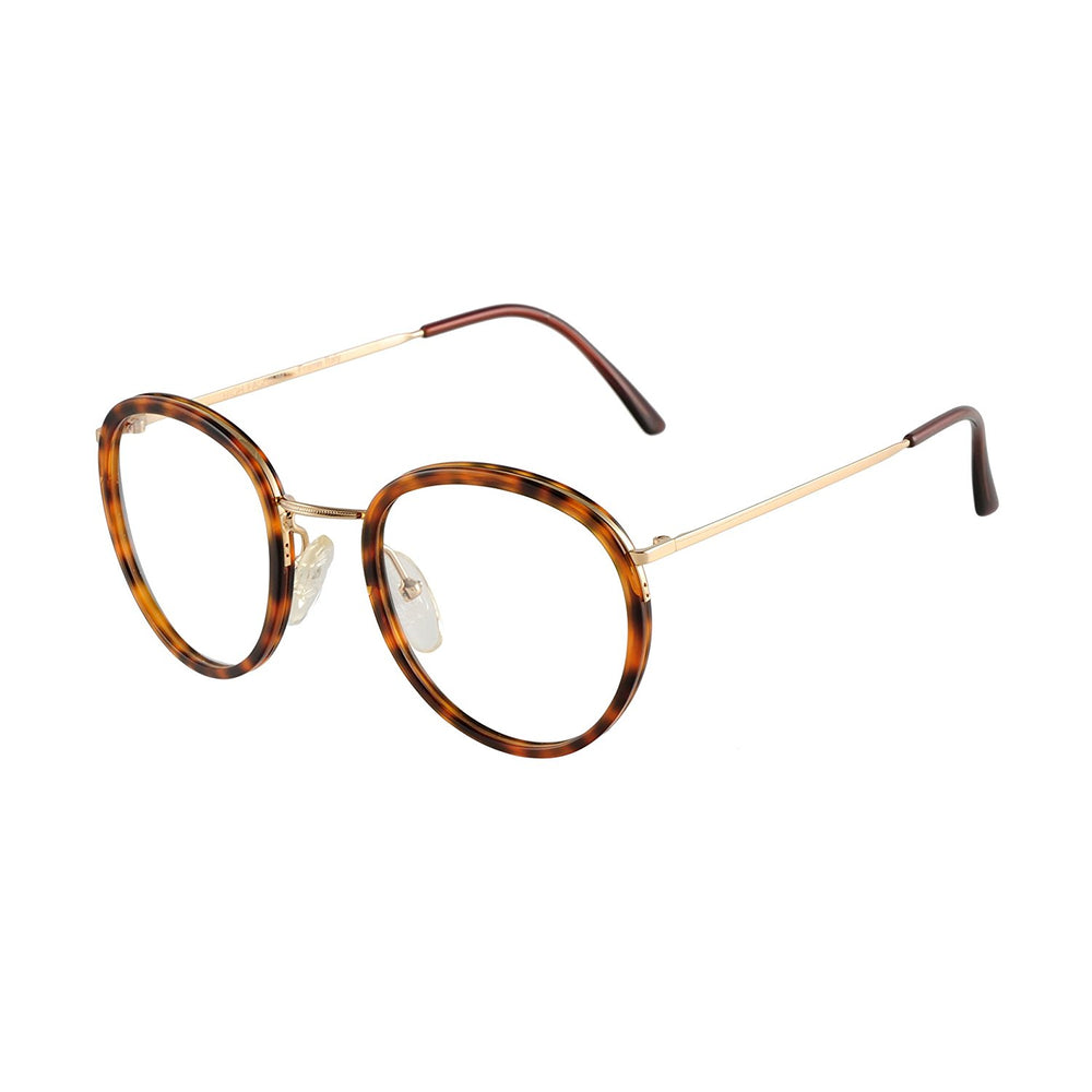 High Fashion Eyeglasses Mod. 5002 Col. 2 Tortoise 54-18 Made in Italy