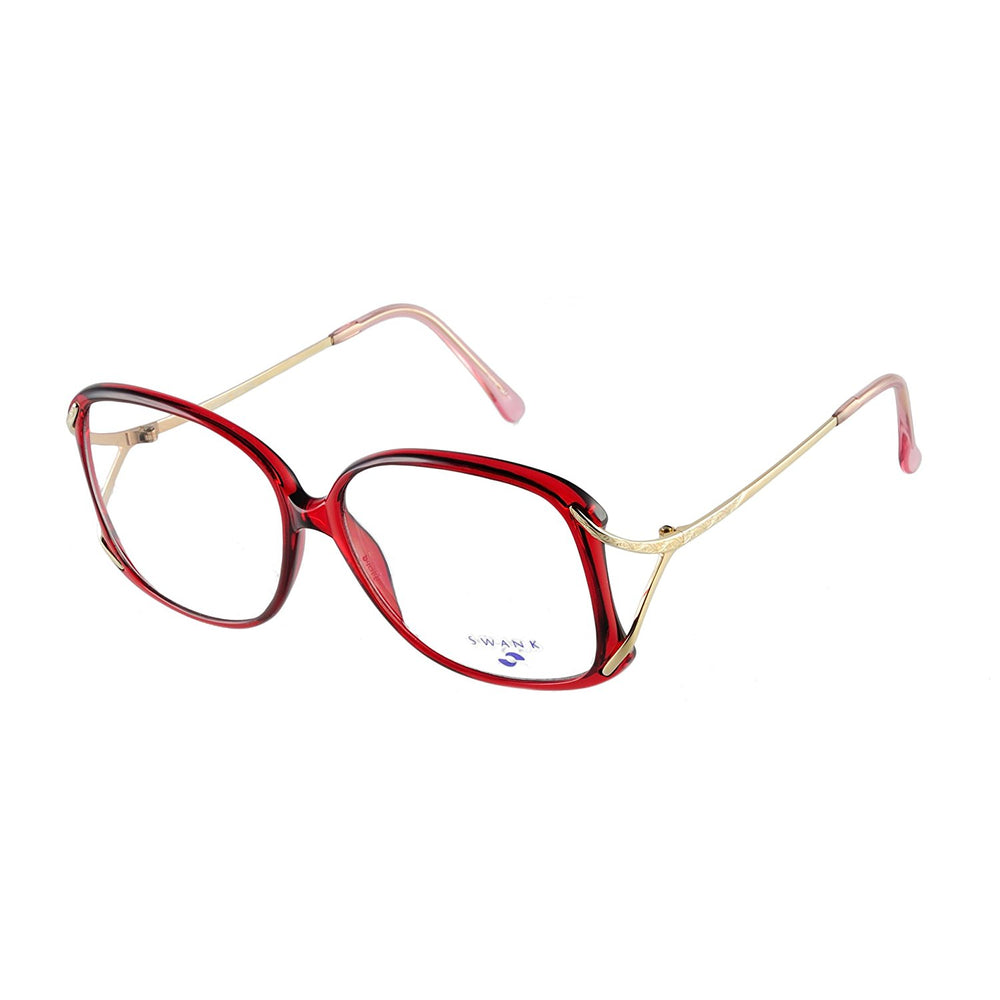 SWANK Eyeglasses Chantilly 903 Burgundy 722 Size 54-14-125 Made in Japan