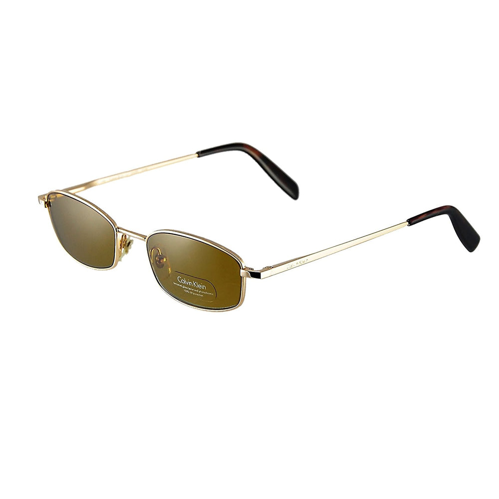 Calvin Klein Sunglasses Ck 166s Gold Tempered Glass