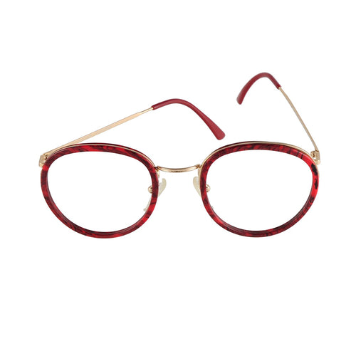 High Fashion Eyeglasses Mod. 5002 Col. 1 Red 54-18 Made in Italy - Eyeqglass