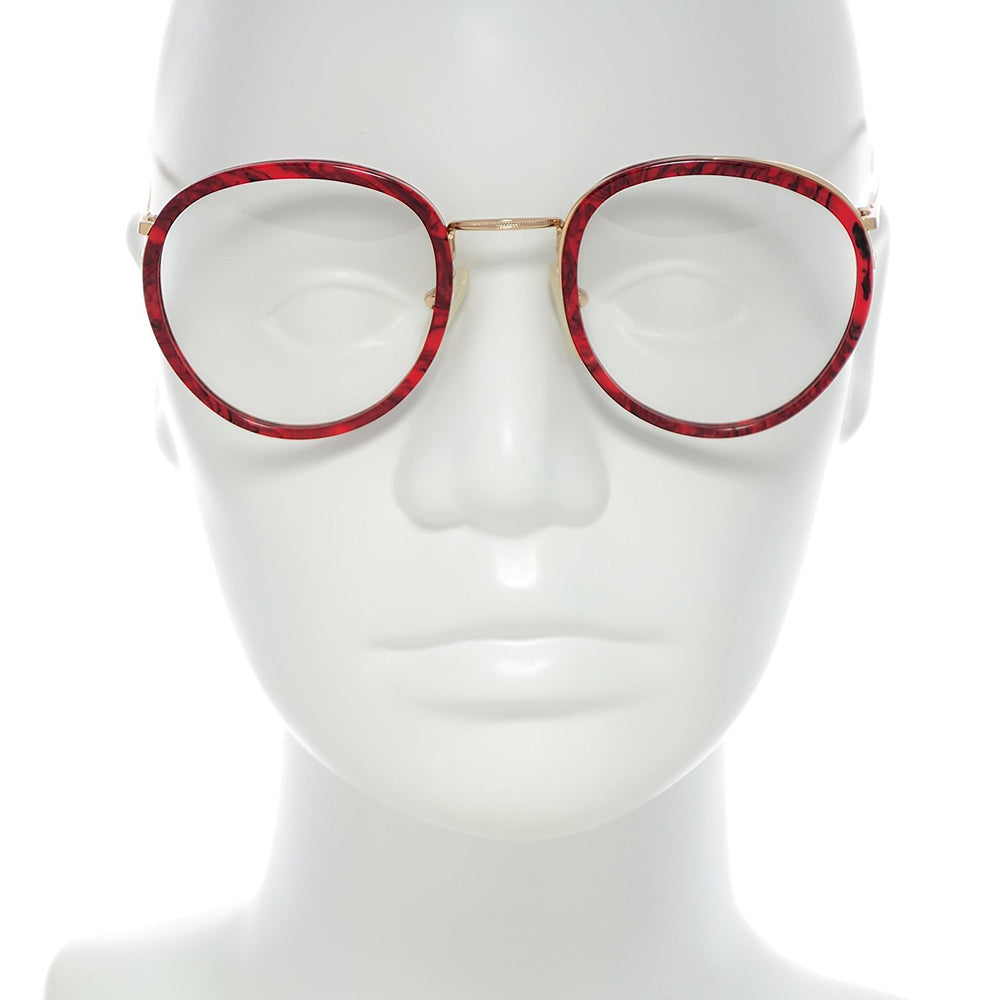 High Fashion Eyeglasses Mod. 5002 Col. 1 Red 54-18 Made in Italy