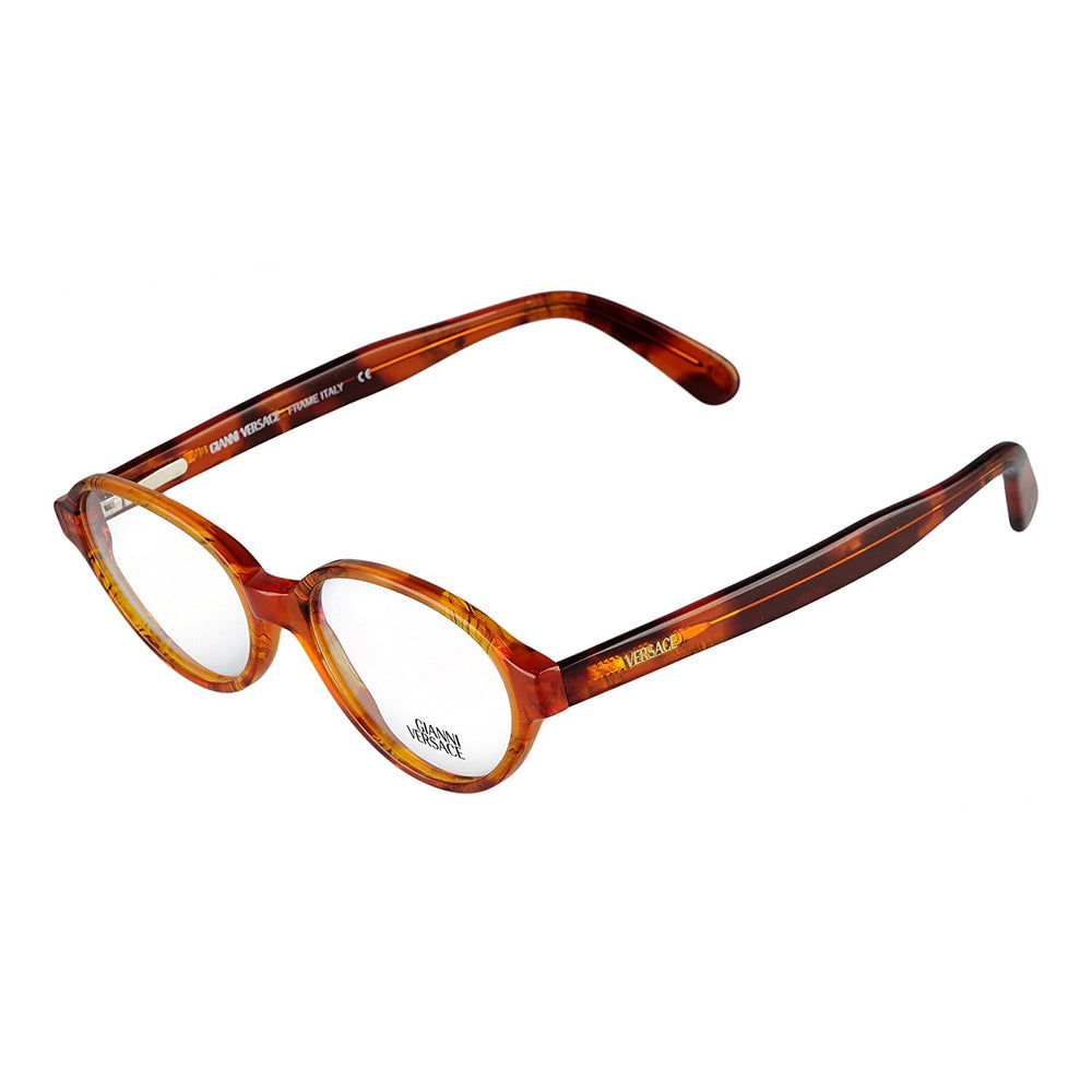 Versace Eyeglasses V54 A08 50-17 Brown Tortoise Made in Italy
