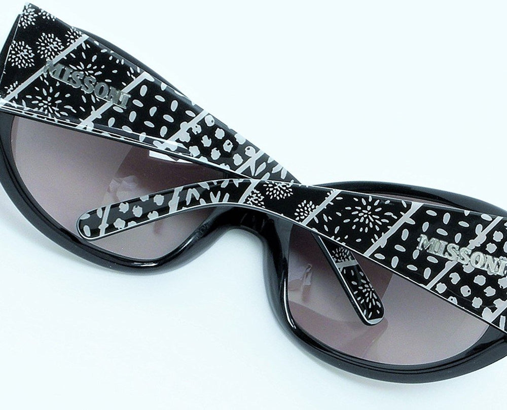 Missoni Sunglasses MI63401 Black 64-19-115 Made in Italy