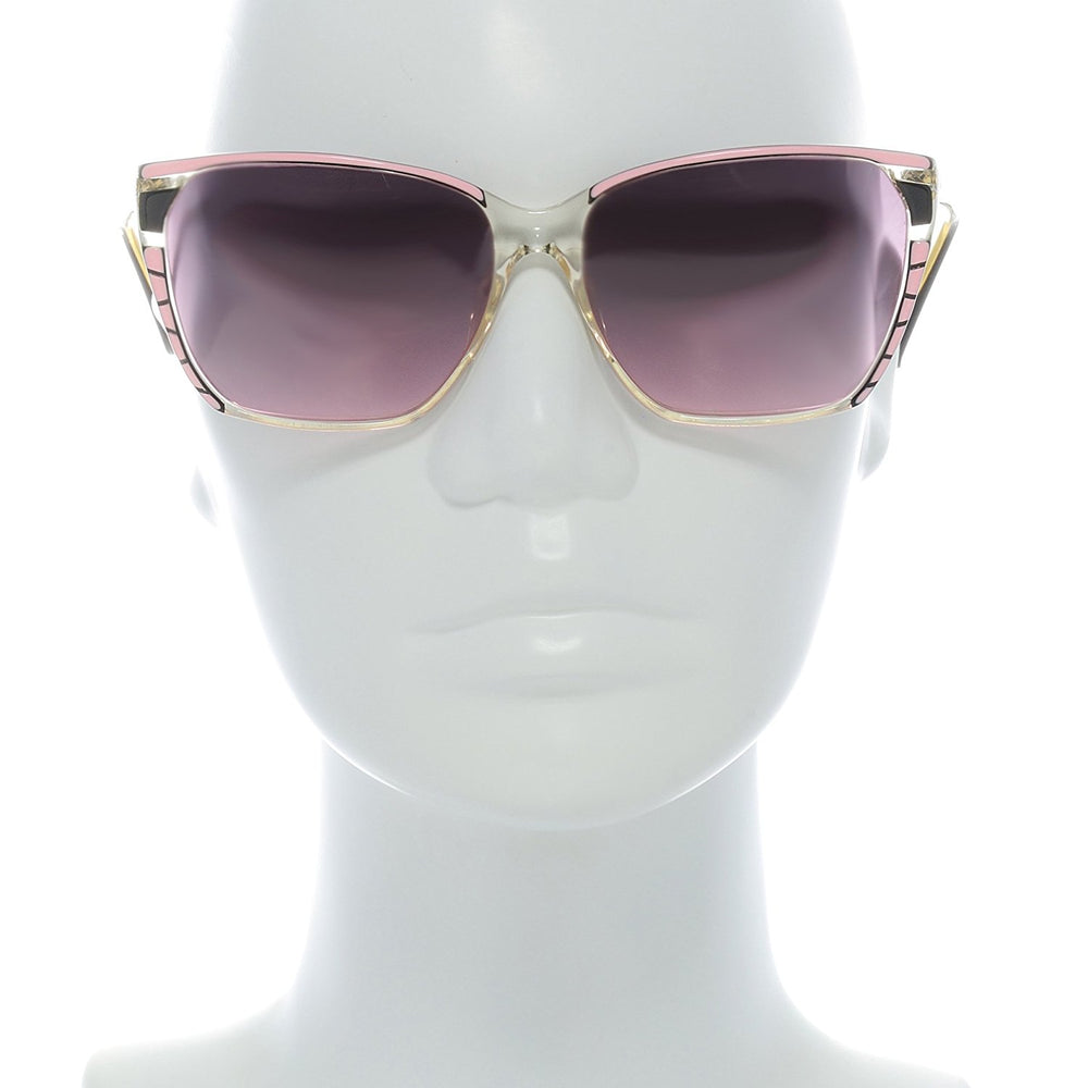 High Fashion Sunglasses Florence Design 628-2 Pink 57-16 Made in Italy