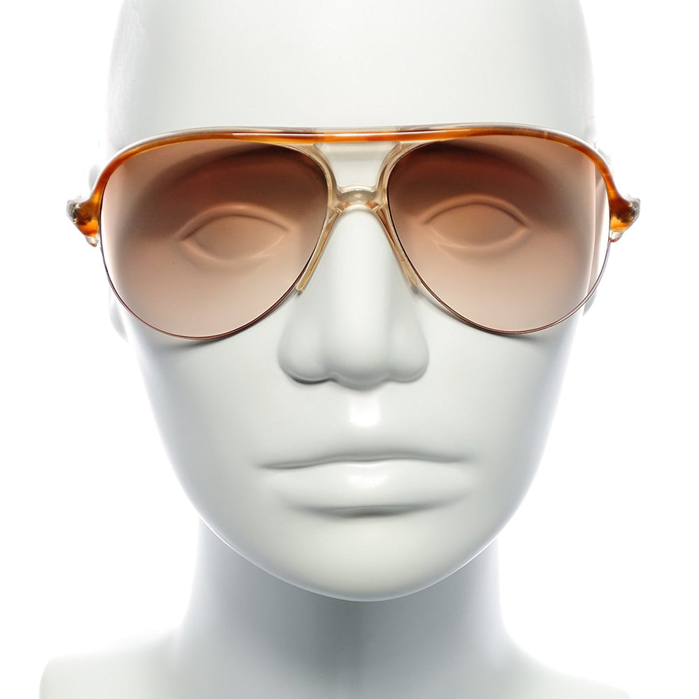 Robert La Roche Sunglasses 301 OM 16 Caramel Brown 57-18 Made in Italy