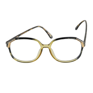 Christian Dior Eyeglasses (no lens) 2517 50 Green Tortoise 58-16-135 Made in Germany - Eyeqglass