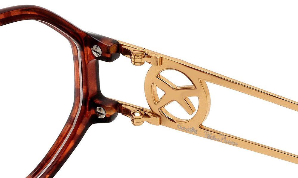 Paloma Picasso Eyeglasses 3762 10 Brown Tortoise 53-13-125 Made in Germany