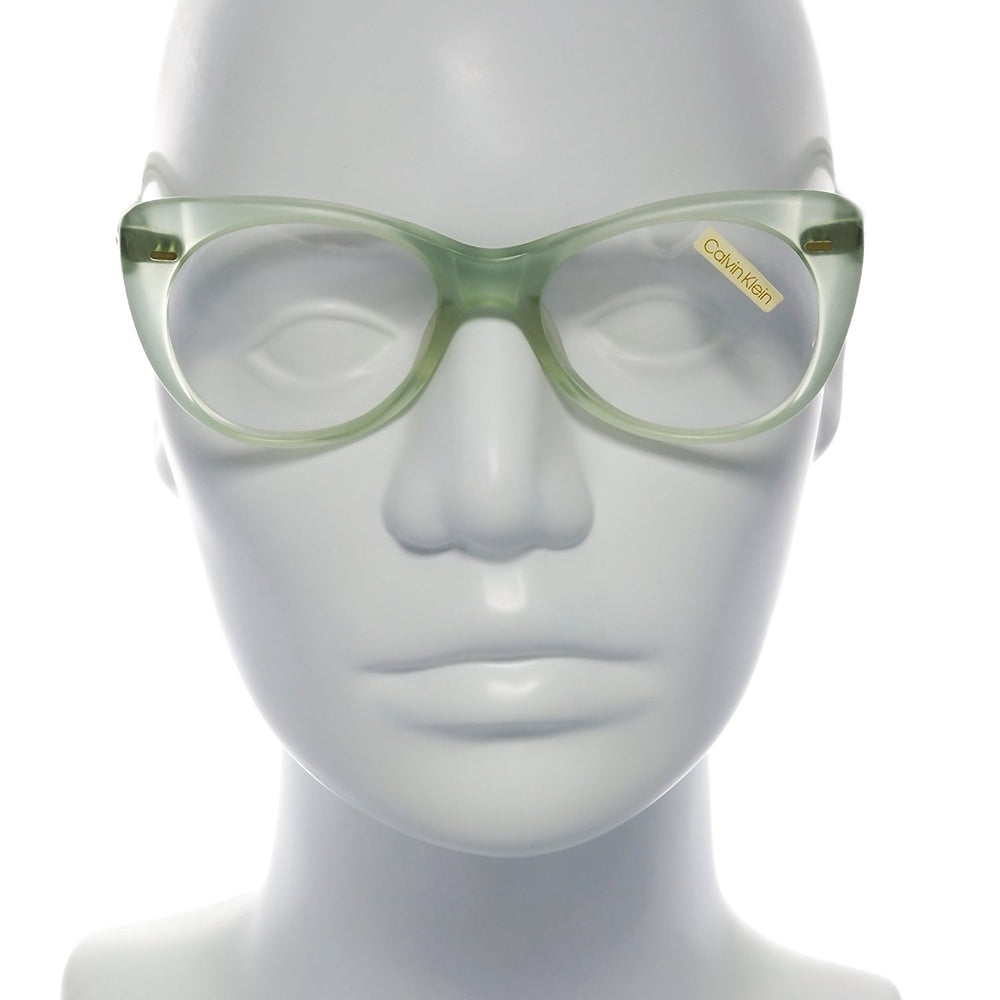 Calvin Klein Eyeglasses CK 1 1918 Transparent Light Green 51-17-145 Made in Italy - Eyeqglass