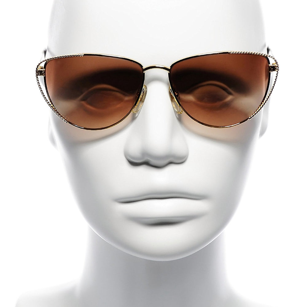 FENDI Sunglasses FV 171 Brown Tint 261 58-14-135 Made in Italy
