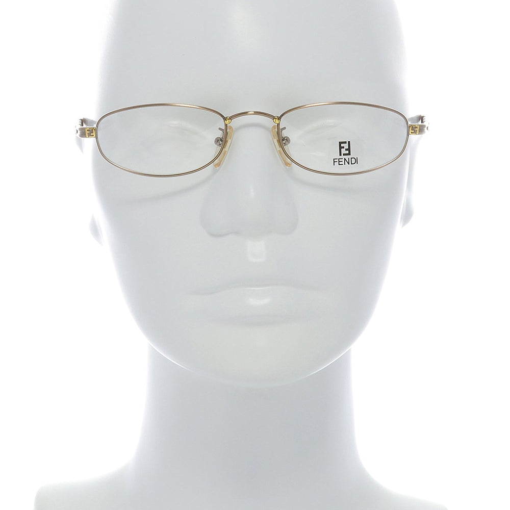 Fendi Eyeglasses F65 Col. Cafe 50-19-140 Made in Italy