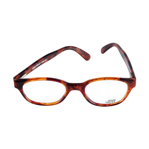 Versace Eyeglasses V53 Col. A09 Brown Tortoise 48-19 Made in Italy - Eyeqglass