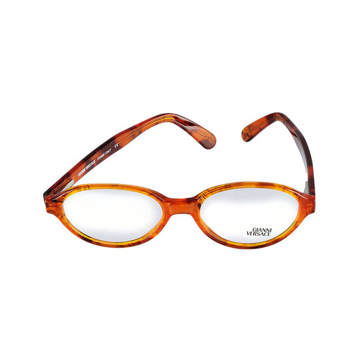 Versace Eyeglasses V54 A08 50-17 Brown Tortoise Made in Italy - Eyeqglass