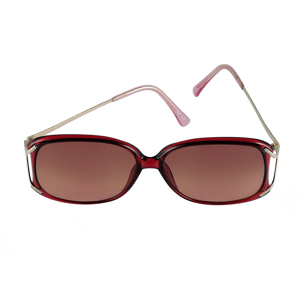 Swank Sunglasses Chantilly 903 Col. 722 Burgundy 54-14-125 Made in Japan - Eyeqglass