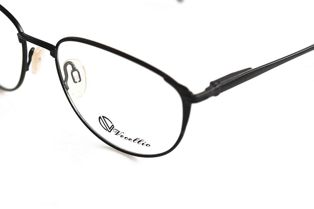 Vecellio Eyeglasses Col. Black 55-20-134 Made in Italy