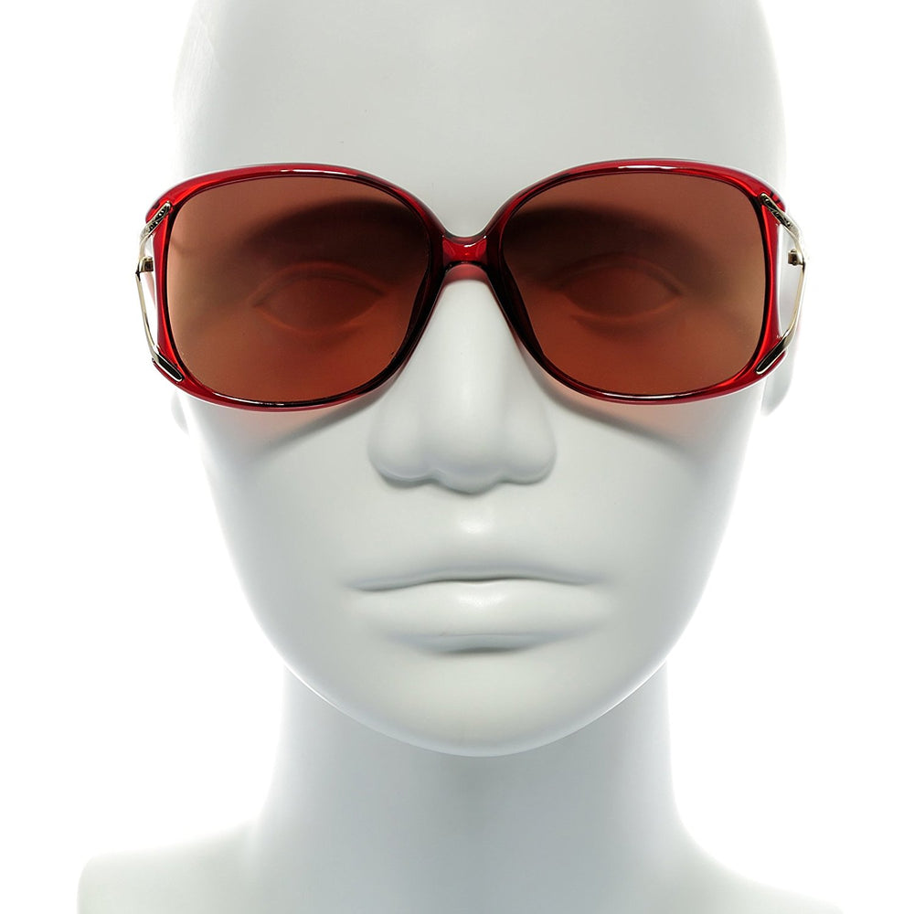 Swank Sunglasses Chantilly 903 Col. 722 Burgundy 54-14-125 Made in Japan