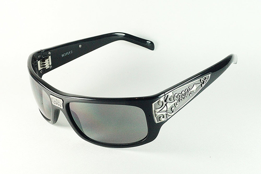 Black Flys Sunglasses SKI FLY 2 Fly In Where You Fit In - Eyeqglass