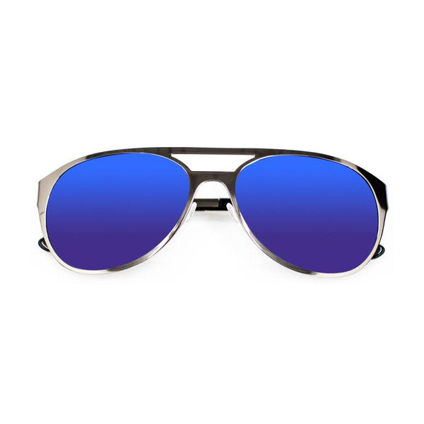 TRUE ROMANCE INSPIRED KING Blue Mirror SUNGLASSES - Eyeqglass