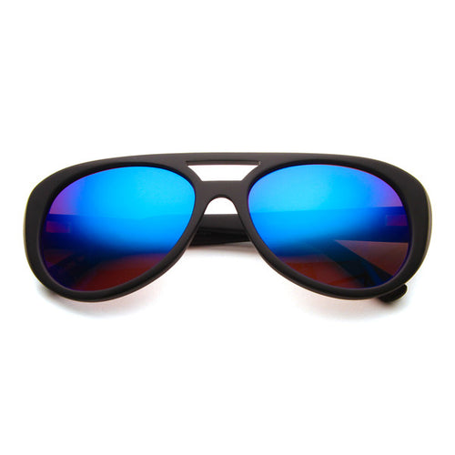 Copy of TRUE ROMANCE INSPIRED KING Blue Mirror Lens SUNGLASSES - Eyeqglass