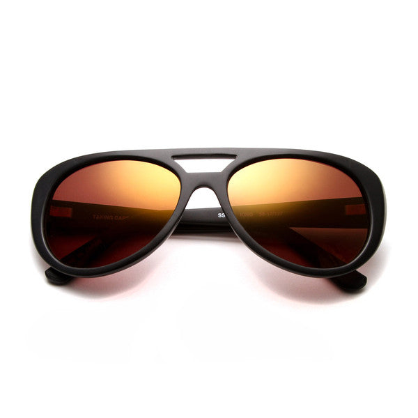 TRUE ROMANCE INSPIRED KING Gold Lens SUNGLASSES