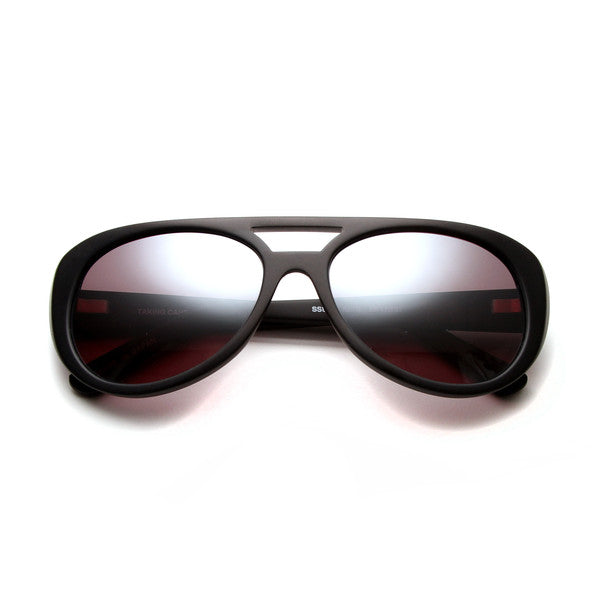 TRUE ROMANCE INSPIRED KING Silver Lens SUNGLASSES