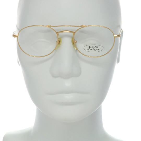 Papa Hemingway Eyeglasses 17-3106 GP Col 1 49-19-145 Made in Japan