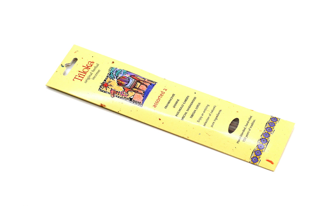 Assorted 2 Stick Incense