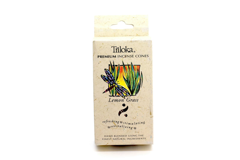 Lemon Grass Cone Incense