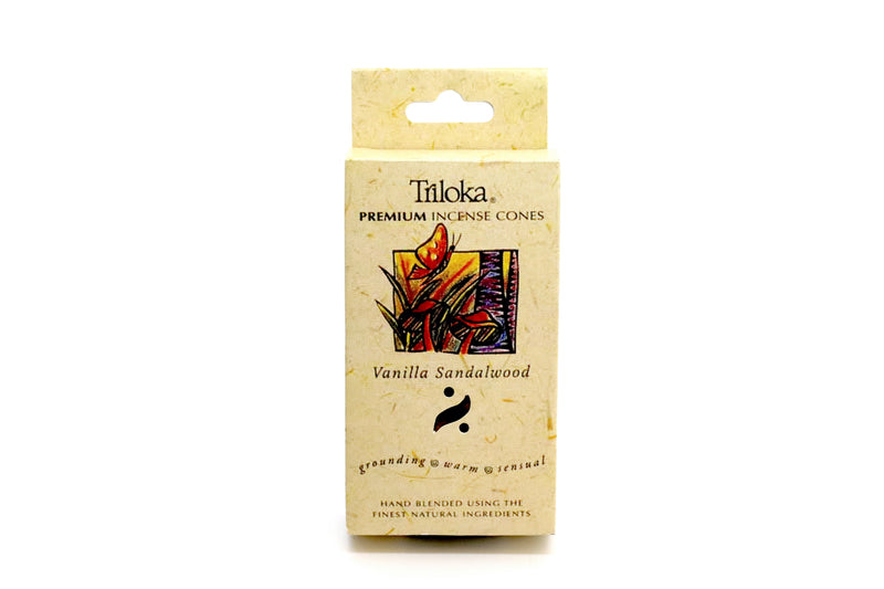 Vanilla Sandalwood Cone Incense